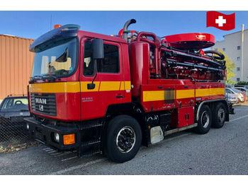 MAN 19.414 FLC 6x2  - شاحنة الشفط