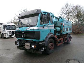Vacuum truck Mercedes-Benz SK 1824 KOMBI:Saug/Druck/Spül/Diesel Heizöl Tank