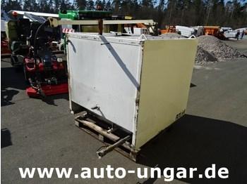 Multicar Rolba Boki Ladog Hansa Rolba - Wassertank Edelstahl 1500 Liter mit Schlauchabroller - شاحنة الشفط
