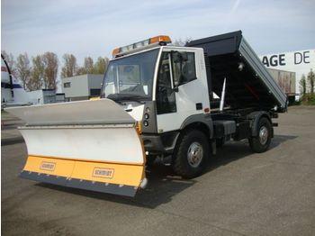 آلية المنفعة/ مركبة خاصة aebi multicar AEBI MT750 4X4 WINTERDIENST kipper 6 CIL DEMO 163PK euro6