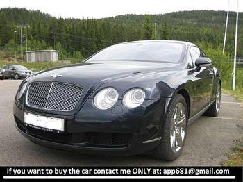 Bentley Continental 6,0 GT - auto