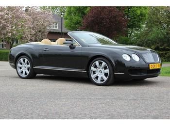 Bentley Continental GTC W12 ZWART/BEIGE - auto