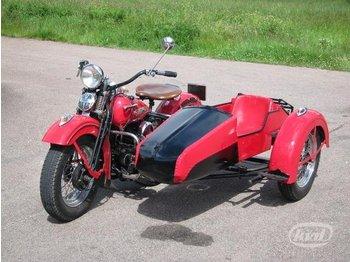 Harley Davidsson Sidventliare HDWLA 750 cc  - mootorratas