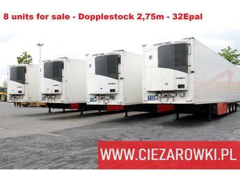 SCHMITZ CARGOBULL MEGA 2.75 M Dopplestock - 32 Epal 8 UNITS FOR SALE - naczepa chłodnia