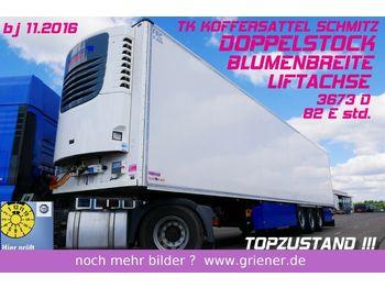 Schmitz Cargobull SKO 24/ DOPPELSTOCK /BLUMEN / LIFTACHSE TOP  - naczepa chłodnia