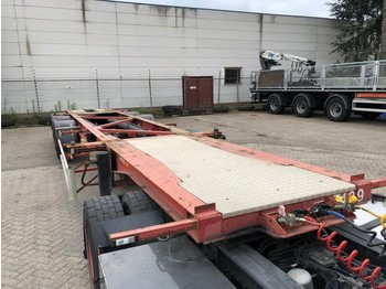 DESOT 20 Ft. ADR TANK CONTAINERCHASSIS - 3-ACHSE - BELGIUM - 10X AVAILABLE - naczepa kontenerowiec/ system wymienny