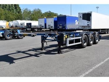 LAG 0-3-39 CD - naczepa kontenerowiec/ system wymienny