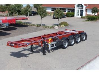 Naczepa kontenerowiec/ system wymienny LAG 30'/20' container