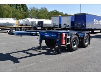 LAG BP0 12-20 CCXAX - naczepa kontenerowiec/ system wymienny