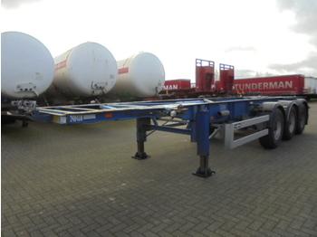 Naczepa kontenerowiec/ system wymienny Van Hool 3B0049 ADR BULK