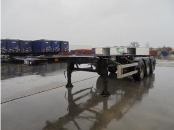 Naczepa kontenerowiec/ system wymienny Van Hool 3B 0049 ADR