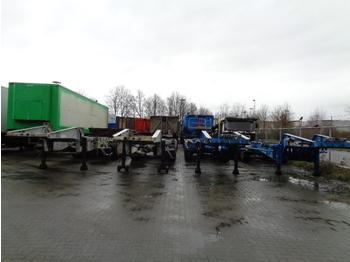 Naczepa kontenerowiec/ system wymienny Van Hool 3H0010 ADR