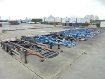 Naczepa kontenerowiec/ system wymienny Van Hool 3 AS ADR