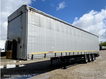 KÖGEL SN 24 Lift Axle Multilock XL - naczepa plandeka