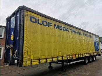 Naczepa plandeka Lag O-3-GT 50 MEGA   3 BPW Axles   1360x249x299   XL