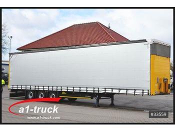 Naczepa plandeka Schmitz Cargobull S01, Mega, verzinkt, Steckrungen, HU 01/2021: zdjęcie 1