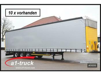 Naczepa plandeka Schmitz Cargobull S01 Megatrailer,HU 03/2021, 10 x vorhanden,