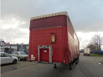 Schmitz Cargobull SCHMITZ (3 X SAF DISC BRAKE AXLE) - naczepa plandeka
