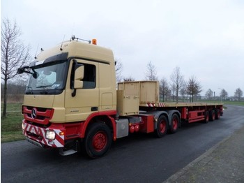 Nooteboom 0VB-44-03V (V) Double Extendable Platform trailer - naczepa platforma