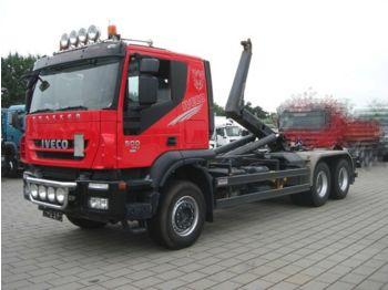 Hákový nosič kontajnerov Iveco TRACKER AT260T50 6x4 Abrollkipper Meiller