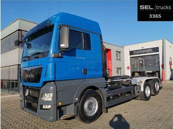 Hákový nosič kontajnerov MAN TGX 26.440 6x2-4 BL / Intarder / Lift-Lenkachse