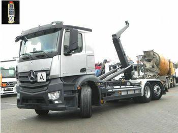 Hákový nosič kontajnerov Mercedes-Benz Antos 2745 6x2 Abrollkipper Meiller, Lift/Lenk