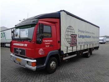 Nákladné vozidlo s posuvnou plachtou MAN L2000, Euro 2, 212 TKM(!), NL truck, TOP!