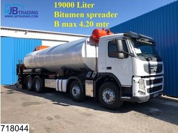 Volvo FM13 380 Bitum spreader, 8x2, EURO 5, Steel suspension, Acmar 19000 Liter, B Max 4,20 mtr - cisternové vozidlo