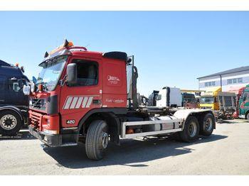 VOLVO FM12 420 6X2 Lastväxlare - hákový nosič kontejnerů