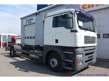 MAN TGA 18.350 BDF 1.Hand 5 Sitzer Klima Schalter - kontejnérový podvozek/ výměnná nástavba