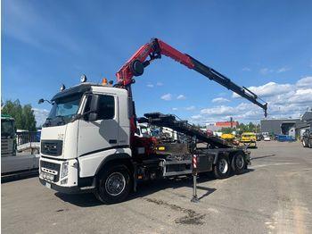Kontejnérový podvozek/ výměnná nástavba VOLVO FH 420 6x2