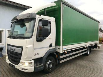 Plachtový nákladní auto DAF LF 220 Pritsche PLane LBW TOP Zustand EU6