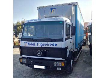 MERCEDES-BENZ 1217 left hand drive 12 ton OM366 - plachtový nákladní auto