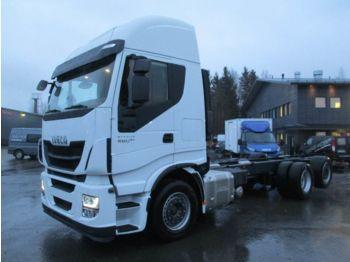 IVECO Stralis AS260S48 6x2*4 - podvozek s kabinou