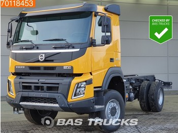 Volvo FMX 420 4X4 Non-EU NEW! 4x4 Steelsuspension Euro 5 - podvozek s kabinou