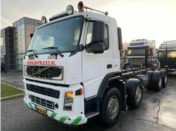Volvo FM 12-340 8X4 MANUAL FULL STEEL EURO 3  - podvozek s kabinou