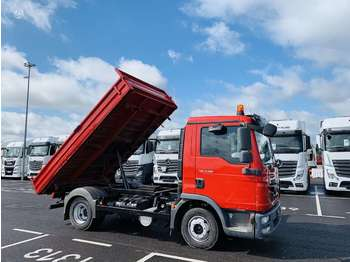 MAN TGE, cargo from 3,5 t up to 5 t  - sklápěč