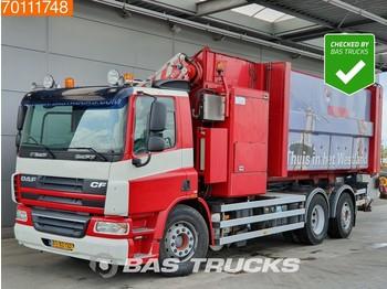 Kamion za odvoz smeća DAF CF75.250 6X2 Lenkachse Translift-SeitenLader-Aufbau Euro 5: slika kamion za odvoz smeća DAF CF75.250 6X2 Lenkachse Translift-SeitenLader-Aufbau Euro 5