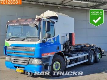 Kamion za odvoz smeća DAF CF75.250 6X2 RHD Lenkachse Haller Aufbau Euro 5