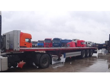 Schmitz Cargobull SPR 24 (BPW-axles / DRUM BRAKES / FREIN TAMBOURS) - платформа напівпричіп