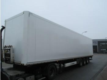Закритий кузов напівпричіп Krone Krone SD kasten trailer mit hebebuhne 2500 kg !!