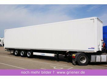 Закритий кузов напівпричіп Krone SD 27/ ISOLIERTER KOFFER DOPPELSTOCK ZURRLEIST
