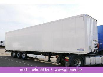 Закритий кузов напівпричіп Krone SD 27/ ISOLIERTER KOFFER DOPPELSTOCK ZURRLEISTE