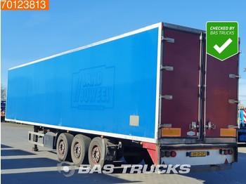 Закритий кузов напівпричіп Vogelzang SAF TUV 12-2020 3 axles Liftachse