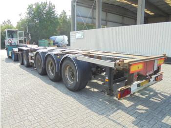 Kontejnerovy návěs/ výměnná nástavba Nooteboom CT 60-05Deel chassis 5 axle