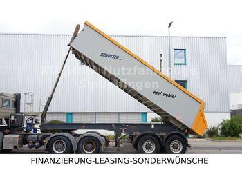 Langendorf SKA 18/28 Alukastenmulde Rollplane Luftgefedert  - sklápěcí návěs