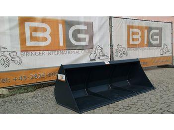 Leichtgutschaufel 220 cm Hardox m. Euro Aufnahm  - фронтальный погрузчик для трактора
