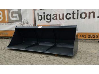 Leichtgutschaufel 220 cm pass. zu Euro Aufnahme  - фронтальный погрузчик для трактора