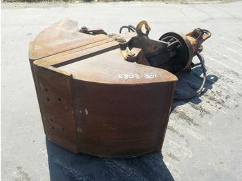 Грейферный ковш 24'' Hydraulic Rotating Clamshell Bucket: фото 1