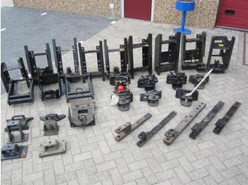 Sauermann T5 / Case IH / Steyr - сцепное устройство